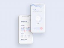 Дизайн таймера для мобильного приложения