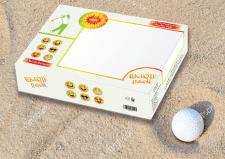 Упаковка мячей для гольфа