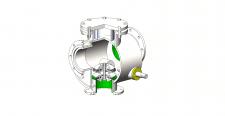 Переключатель клапанный DN150
