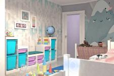 Визуализация детской комнаты 2