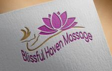 разработка логотипа массажного салона