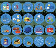 Набор иконок под категории сайта зоо-тематики [1]