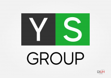 Logo for fast food delivery service YS GROUP