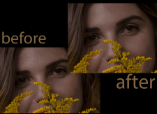 Portrait retouch   Skin retouch