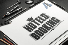 "Логотип ""Hotels Booking"""