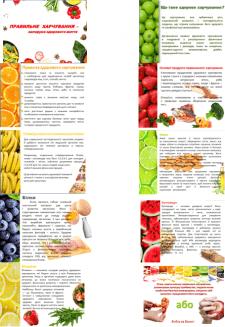 Презентация по принципам здорового питания
