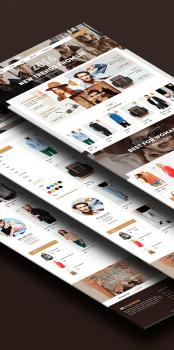 Дизайн сайта онлайн магазина Be.Fashion