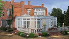 Эскизы веранды для дома в Англии