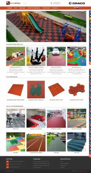 Корпоративный сайт-каталог