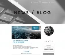 Silença Tech - Blog - правки по сайте, дизайне