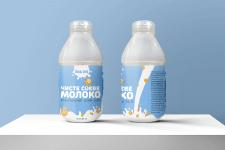 Дизайн етикетки для соєвого молока