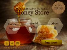 Сайт продажи меда