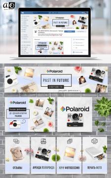 Разукрасили группу POLAROID INSTAX | Фотосессии •