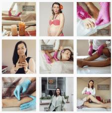 SMM Instagram: продвижение специалиста по шугаринг