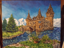 Castle at the water