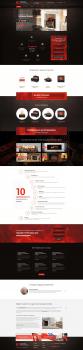 Дизайн интернет-магазина электрокаминов