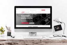 Корпоративный сайт по продаже металлопроката