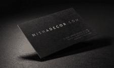 "Визитки ""Nishadecor"""