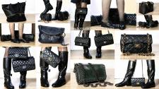 Кожаная обувь и сумки