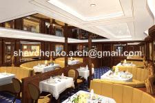 Ресторан круизной яхты