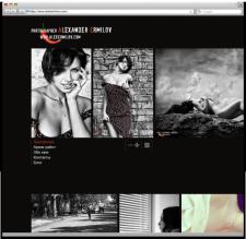 Разработка сайта для фотографа Александра Ермилова