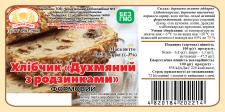 Дизайн хлебной этикетки