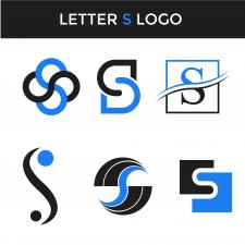 Набор лого буква с
