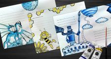 Оформление почтовых конвертов Mail Art