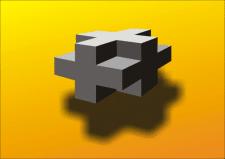 Крест 3D