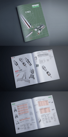 Дизайн и верстка каталога инструментов