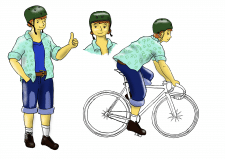 Розробка персонажа для анімації