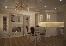Изящная гостиная-студия