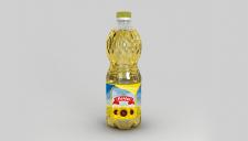 Логотип и этикетка для подсолнечного масла