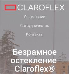 "Сайт ""Claroflex"" на WP"