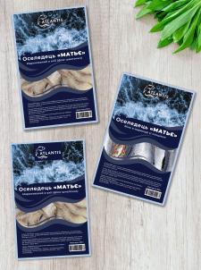 Дизайн упаковки для рыбной продукции