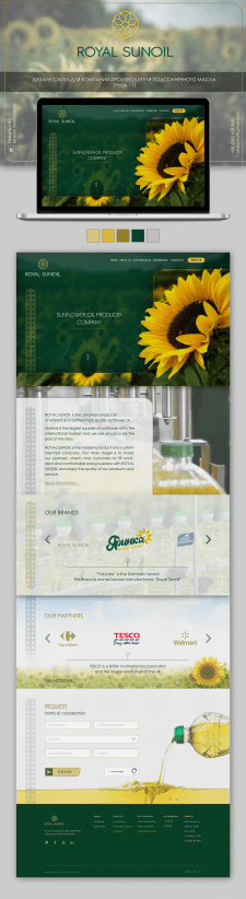 Дизайн корпоративного сайта Компании (p.-1)