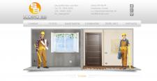 Сайт строительно-ремонтной компании.