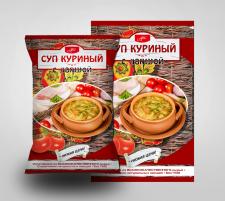 Вариант дизайна супов быстрого приготовления