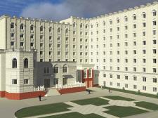 2009 год. Реконструкция общежития НЮАУ