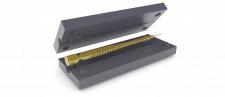 Форма для отливки силиконового червя-приманки
