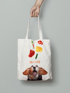 Bag with Beagle