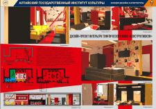 Дизайн-проект интерьера тематического кафе