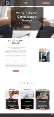 Сайт терапевта - Email оповещения, мультиязычность