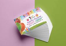 визитка для детского клуба