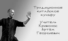 Визитка преподавателя кунг-фу