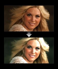 Стилизация фото под Web приложения