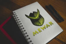 Mewar Sticker