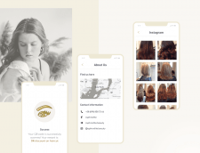Aphrodite   mobile app for beauty salon
