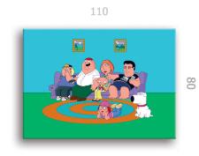 """Портреты в стиле """"Family Guy"""""""