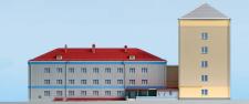 фасад ветеринарного института г. Киев